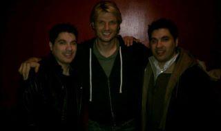 Craig Clizbe, Nick Carter, Matt Clizbe At Trocadero Theatre In Philadelphia