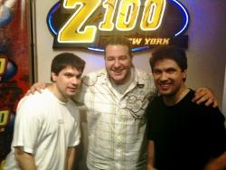 Clizbeats & Mo Bounce at New York's Z100!
