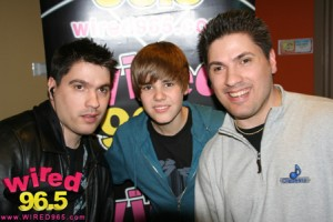 Clizbeats with Justin Bieber