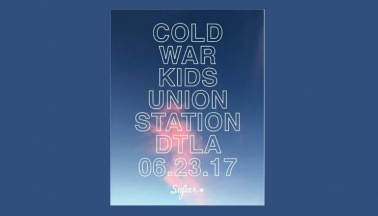 Cold War Kids Free Show