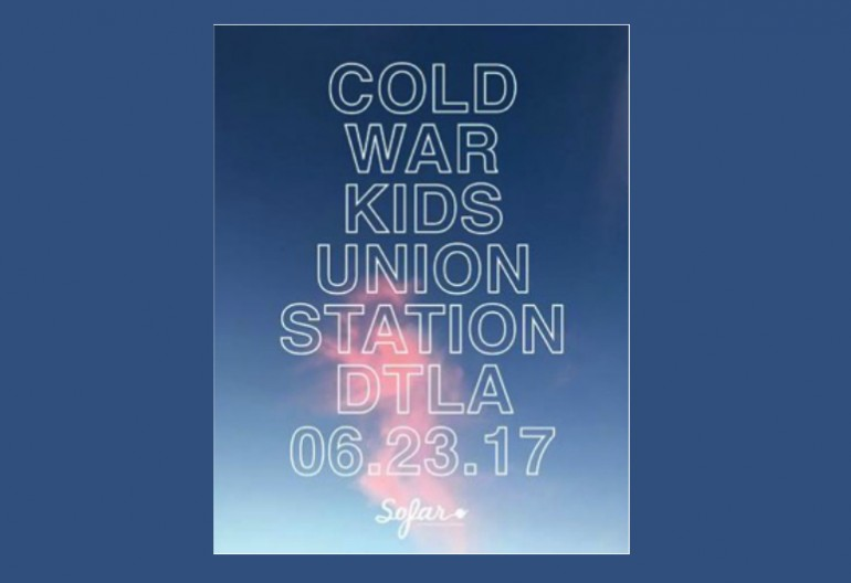 Cold War Kids Free Show