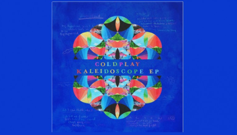 "Coldplay ""Kaleidoscope EP"" Parlophone/Atlantic Records"