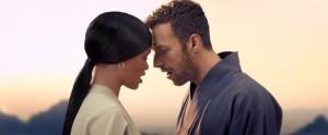 "Rihanna And Chris Martin From Coldplay's ""Princess Of China"" Music Video"