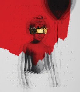 "Rihanna ""ANTI"" album cover"