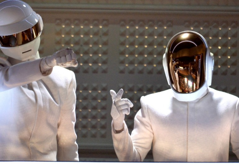 Daft Punk At The 56th Annual Grammy Awards