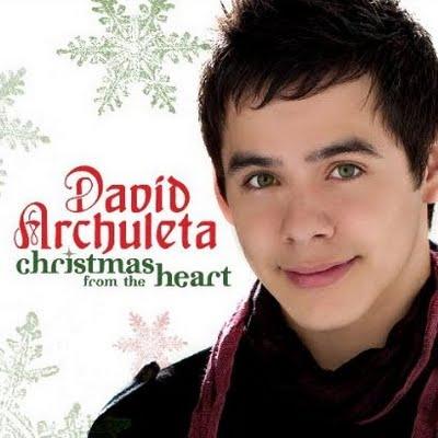 """David Archuleta """"Christmas From The Heart"""" 19/Jive Records/JLG"""