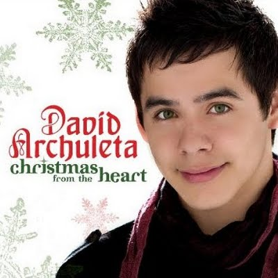 """Click Here To Buy David Archuleta's """"Christmas From The Heart"""" Album From 19/Jive Records/JLG"""