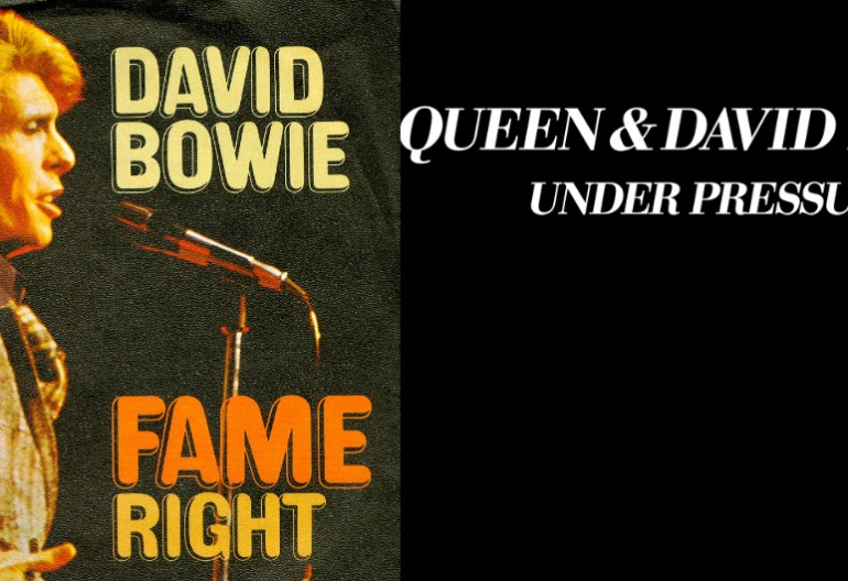 "David Bowie ""Fame""/ Queen And David Bowie ""Under Pressure"""