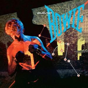 """David Bowie """"Let's Dance"""" Album Cover EMI"""