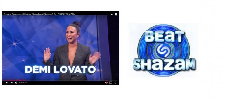Demi Lovato Beat Shazam