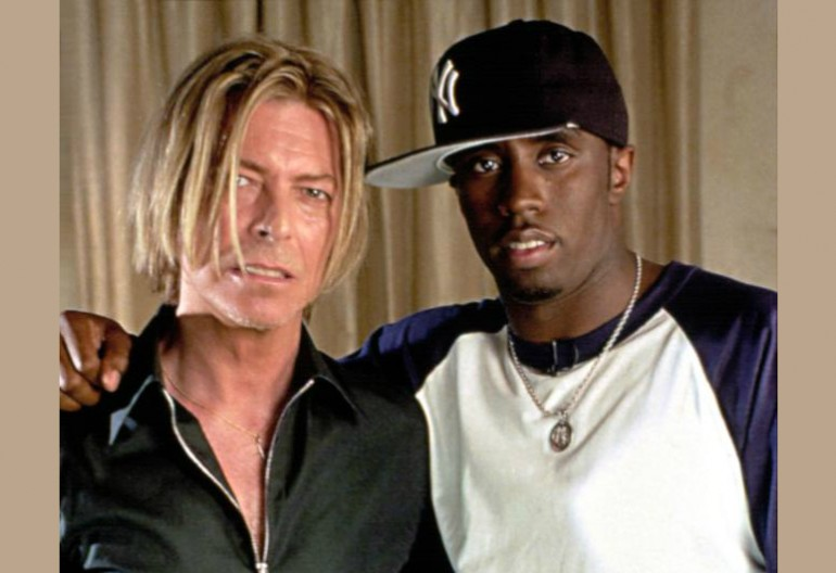 "David Bowie And Sean ""Diddy"" Combs In 2001"