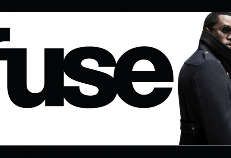 """Fuse logo/ Sean """"Diddy"""" Combs"""