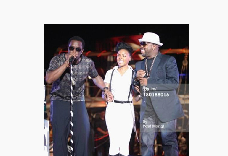 """Sean ""Diddy"" Combs, Janelle Monae, Big Boi"