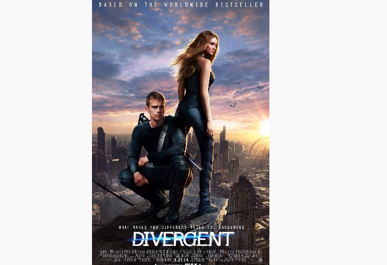 """Divergent"" Film Poster Summit Entertainment"