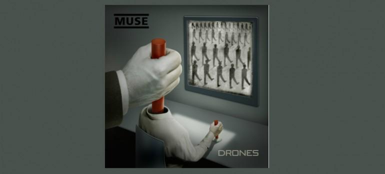 """Muse """"Drones"""" Helium-3/Warner Bros Records"""