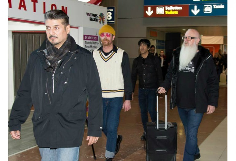 Eagles Of Death Metal at Charles de Gaulle airport