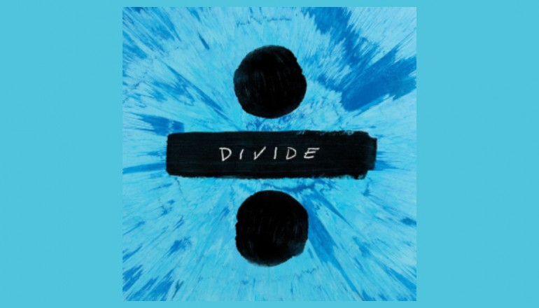 "Ed Sheeran ""Divide"" Atlantic Records"