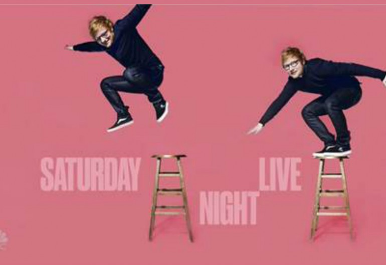 Ed Sheeram On SNL NBC