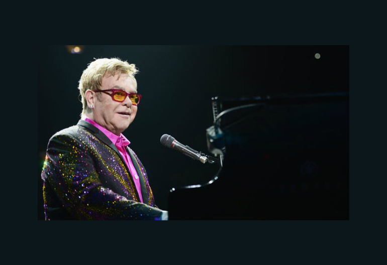 Elton John Via (Michael Loccisano/Getty Images)