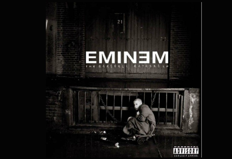 "Eminem ""The Marshall Mathers LP"" WEB/Aftermath/Interscope Records"