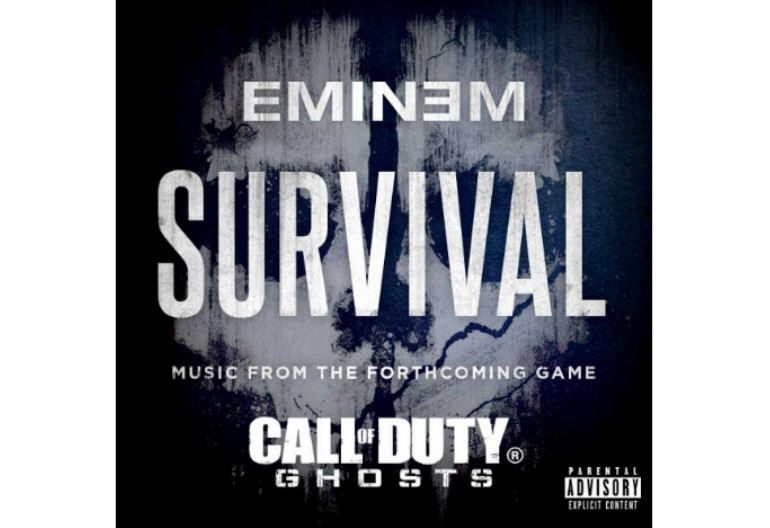 """Eminem """"Survival"""" Shady/Aftermath/Interscope from """"Call Of Duty: Ghosts"""""""