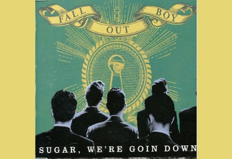"""Sugar. We're Going Down"" was the first Top 10 hit for Fall Out Boy when it was released in 2005."