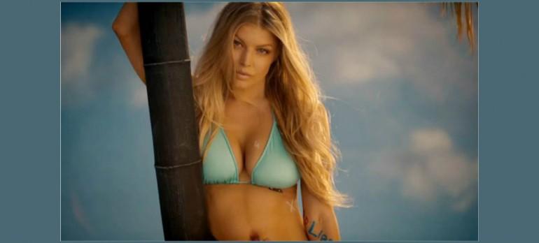 """Fergie in """"LA Love"""" Video"""