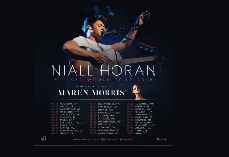 "Niall Horan ""Flicker Tour"" With Maren Morris"