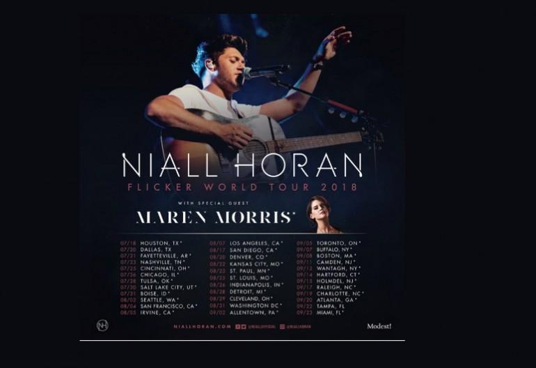 """Niall Horan """"Flicker Tour"""" With Maren Morris"""