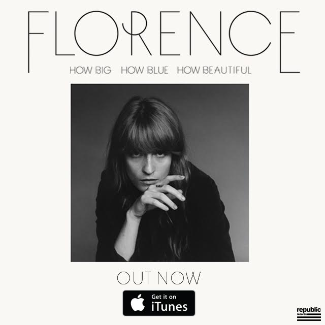 florence big and beautiful singles Florence + the machine – how big, how blue, how beautiful (deluxe) – 3 pre-order singles [itunes plus aac m4a] (2015) - iplusfreecom download genres: alternative, music, rock, adult alternative expected release: 01 june 2015 ℗ 2015 island records, a division of universal music operations.