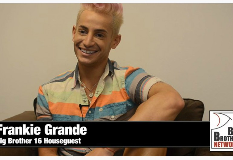 Frankie Grande On Big Brother