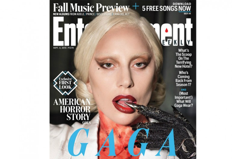 Lady Gaga on the Cover of Entertainment Weekly