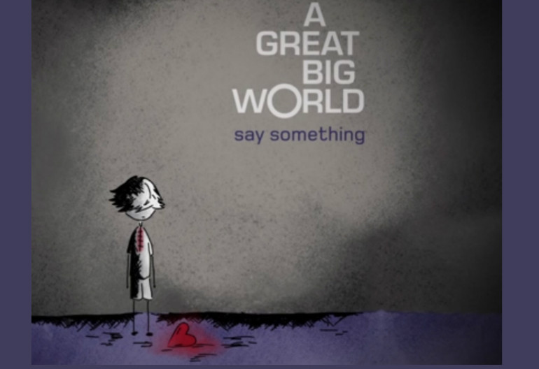 "Great Big World ""Say Something"" Black Magnet/Epic Records"