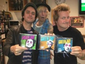 Green Day Holding albums