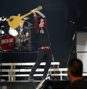 Billie Joe Armstrong At The IHeart Radio Music Festival