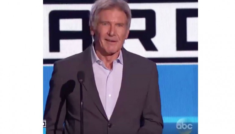 Harrison Ford At The American Music Awards