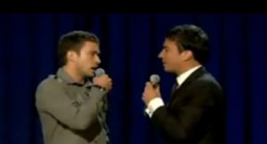 Justin Timberlake & Jimmy Fallon Performing The History Of Rap Part 2