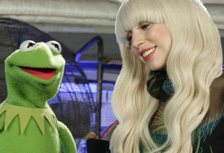 Kermit The Frog With Lady Gaga From The Holiday Spectacular