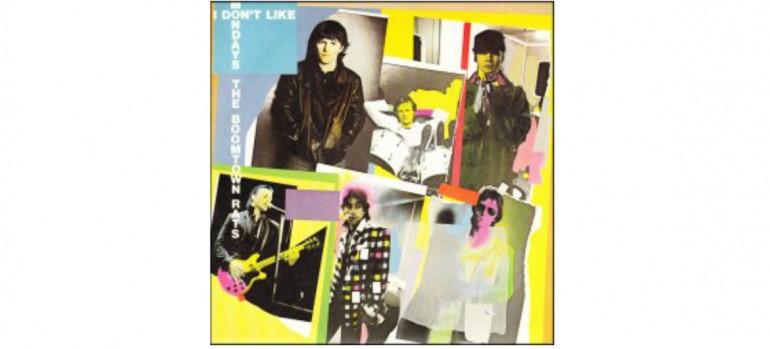 "The Boomtown Rats ""I Don't Like Mondays"" single art via Columbia Records"