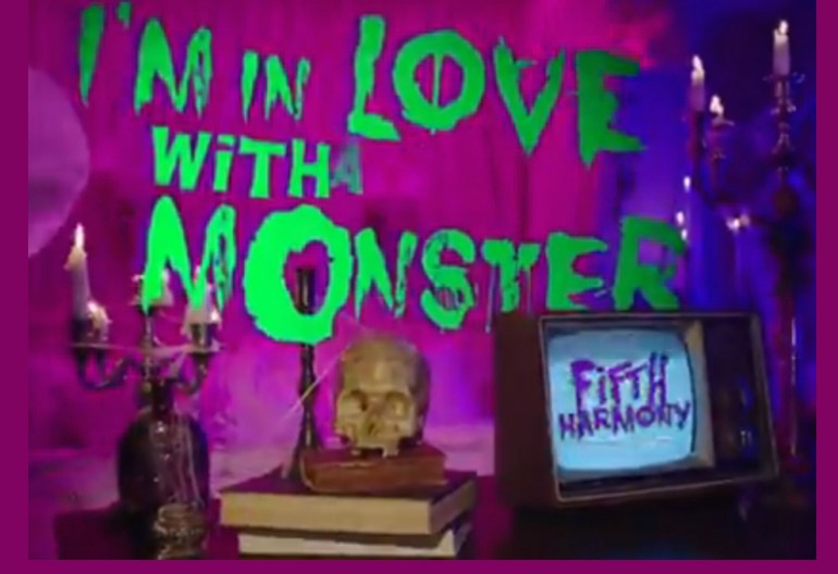 Video Still From I'm In love With A Monster Music Video