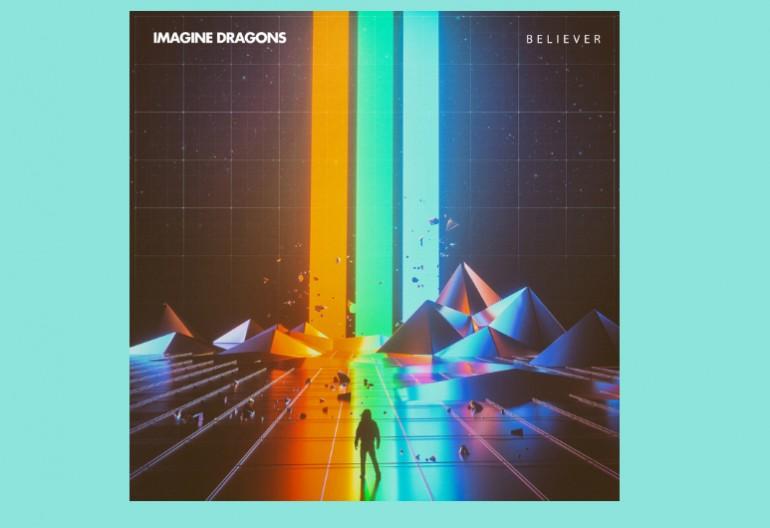 "Imagine Dragons ""Believer"" KidInaKorner/Interscope Records"