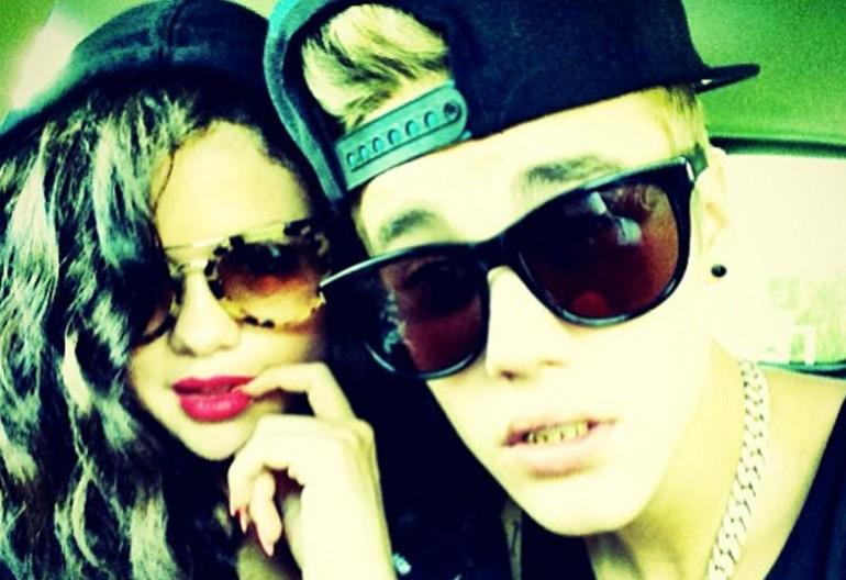 Selena Gomez With Justin Bieber