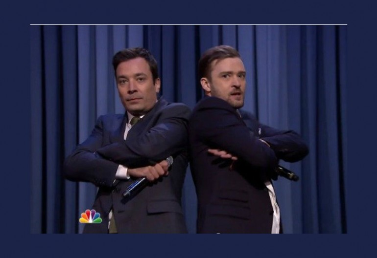 Jimmy Fallon With Justin Timberlake On NBC's Tonight Show With Jimmy Fallon,