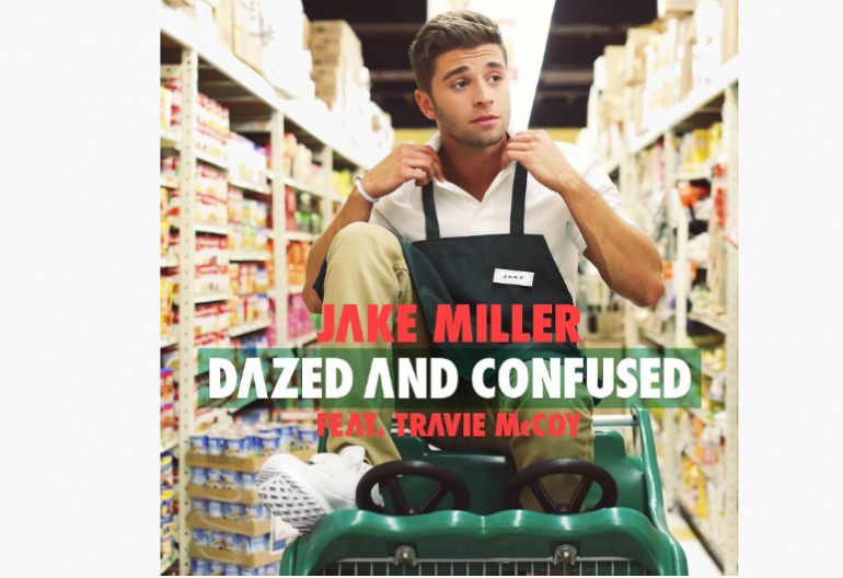"Jake Miller ""Dazed And Confused"" album art"