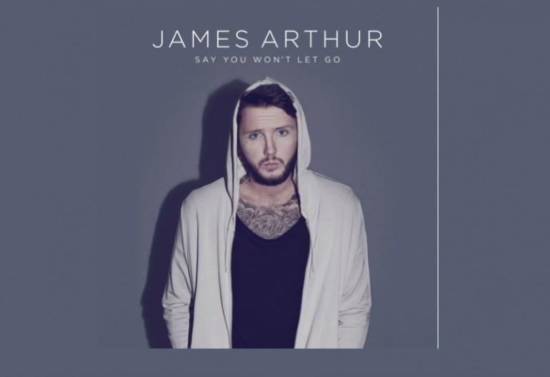 "James Arthur ""Say You Won't Let Go"" Columbia Records"