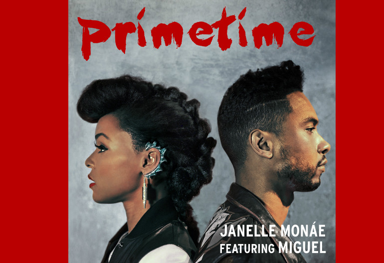 "Janelle Monae ""Primetime"" Album Art"