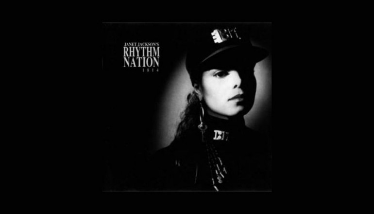 """""""Rhythm Nation"""" was the second single released from the 1989 Janet Jackson album Rhythm Nation 1814."""