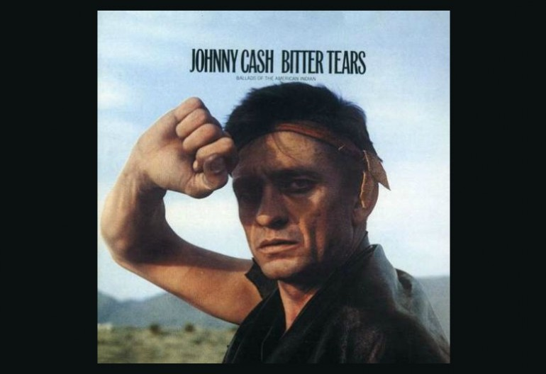 Johnny Cash's Bitter Tears: Ballads of the American Indian album cover