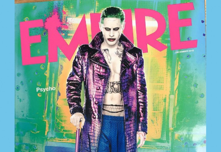 "Jared Leto As ""The Joker"" On Empire Magazine"