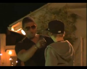 Justin Bieber Shoots His First Music Video...At Usher's House! Jun 11, 2009